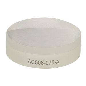 AC508-075-A - f = 75.0 mm, Ø2in Achromatic Doublet, ARC: 400 - 700 nm
