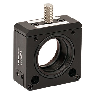 CFH2/M - 30 mm Cage System Removable Filter Holder for Ø1in Optics, Plate and Holder Included, Metric, M4 Tap