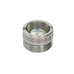 AC050-008-B-ML - f=7.5 mm, Ø5 mm Achromatic Doublet, M9x0.5 Threaded Mount, ARC: 650-1050
