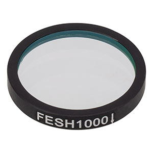 FESH1000 - Ø25.0 mm Premium Shortpass Filter, Cut-Off Wavelength: 1000 nm