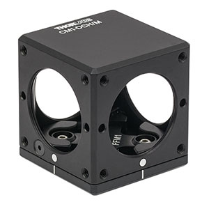 CM1-DCH/M - 30 mm Cage Cube with Dichroic Filter Mount (Metric)