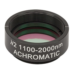 AHWP10M-1600 - Ø1in Mounted Achromatic Half-Wave Plate, SM1-Threaded Mount, 1100 - 2000 nm