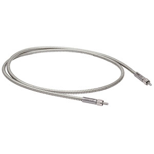 BF13LSMA01 - Round Fiber Bundle, Ø1.3 mm, Low OH, SMA to SMA, 1 m