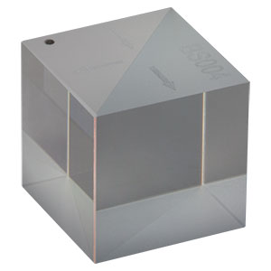 BS004 - 50:50 Non-Polarizing Beamsplitter Cube, 400 - 700 nm, 1/2in