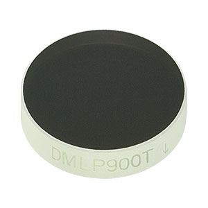 "DMLP900T - Ø1/2"" Longpass Dichroic Mirror, 900 nm Cut-On"