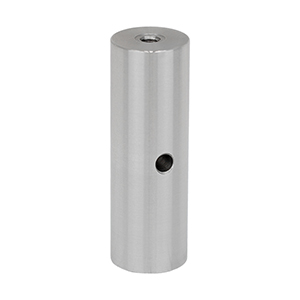 RS3 - Ø1in Pillar Post, 1/4in-20 Taps, L = 3in, 8-32 Adapter Included