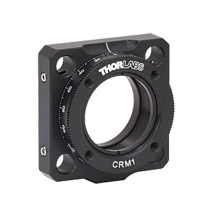 CRM1 - Cage Rotation Mount for Ø1in Optics, SM1 Threaded, 8-32 Tap