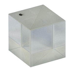 BS010 - 50:50 Non-Polarizing Beamsplitter Cube, 400 - 700 nm, 10 mm