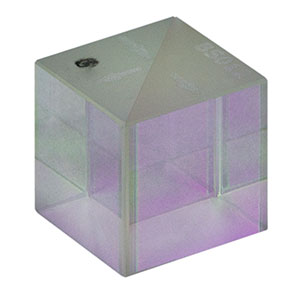 BS012 - 50:50 Non-Polarizing Beamsplitter Cube, 1100 - 1600 nm, 10 mm