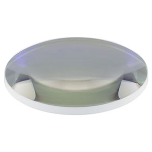 LA1384-B - N-BK7 Plano-Convex Lens, Ø2in, f = 125.0 mm, AR Coating: 650-1050 nm