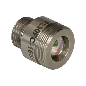F230FC-1550 - 1550 nm, f = 4.67 mm, NA = 0.53 FC/PC Fiber Collimation Pkg.