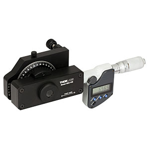 The DM713 digital micrometer is used to actuate the SBC-VIS Soleil-Babinet compensator