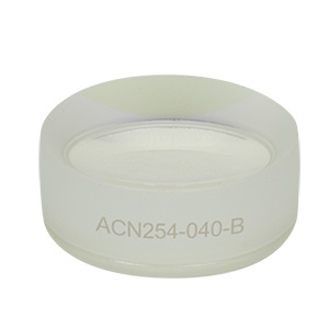 ACN254-040-B - f = -40.0 mm, Ø1in Achromatic Doublet, ARC: 650 - 1050 nm