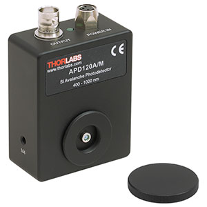 APD120A/M - Si Avalanche Photodetector, 400 - 1000 nm, M4 Taps