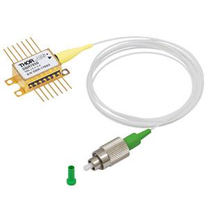 DBR785S - 785 nm, 25 mW, Butterfly DBR Laser, SM Fiber, FC/APC, Internal Isolator