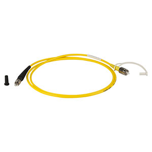P2-830A-PCSMA-1 - Single Mode Patch Cable, 830 nm, FC/PC to SMA, 1 m Long