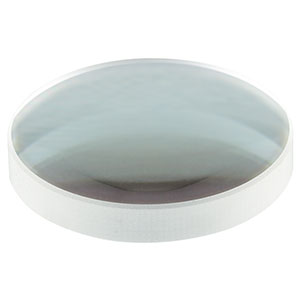 ASL10142-532 - Ø1in Aspheric Lens, f = 77.8 mm, NA = 0.145, 532 nm V Coating