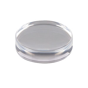 354280-A - f = 18.40 mm, NA = 0.15, Unmounted Geltech Aspheric Lens, AR: 350 - 700 nm