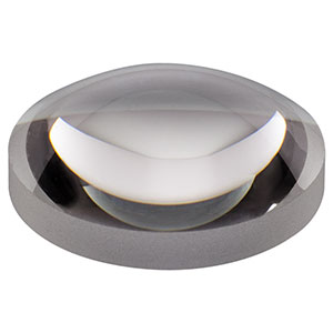 AL1815 - Ø18 mm S-LAH64 Aspheric Lens, f=15 mm, NA=0.53, Uncoated