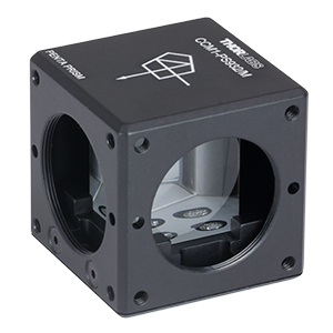 CCM1-PS932/M - 30 mm Cage Cube-Mounted Penta Prism, >Ø12 mm Clear Aperture, M4 Tap