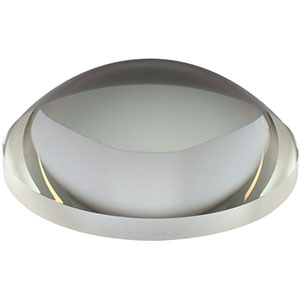 AL100100 - Ø100.0 mm N-BK7 Aspheric Lens, f=100 mm, NA=0.47, Uncoated