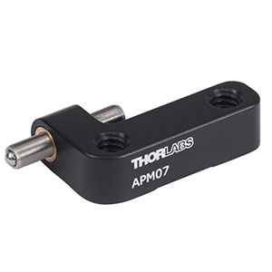 APM07 - Adjustable Kinematic Positioner, 1/4in-20 Taps
