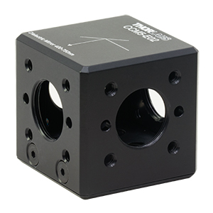 CCM5-E02 - 16 mm Cage-Cube-Mounted Dielectric Turning Prism Mirror, 400-750 nm, 8-32 Tap