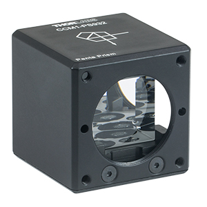 CCM1-PS932 - 30 mm Cage Cube-Mounted Penta Prism, >Ø12 mm Clear Aperture, 8-32 Tap