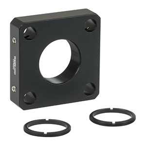 CPM20 - 30 mm Cage Plate for Ø20 mm Optic, 2 SM20RR Retaining Rings Included