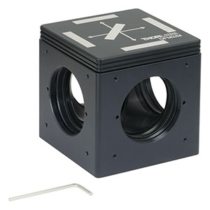 DFM2/M - Kinematic Fluorescence Filter Cube, 60 mm Cage Compatible, Right-Turning, M6 Tapped Holes