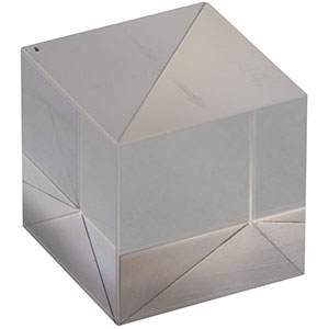 BS043 - 10:90 (R:T) Non-Polarizing Beamsplitter Cube, 400 - 700 nm, 20 mm