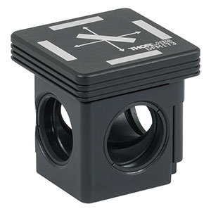 DFM1T3 - Kinematic Cage Cube Top for Fluorescence Filter Sets, Left-Turning