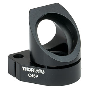 C45P - Right-Angle Kinematic Mount for Ø1in Optics, 30 mm Cage Compatible