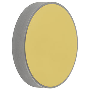 CM508-500-M01 - Ø2in Gold-Coated Concave Mirror, f = 500.0 mm