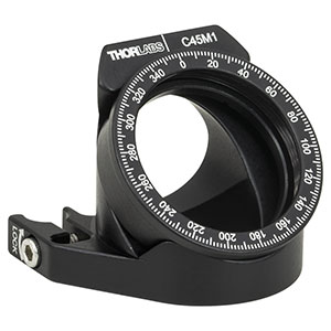 C45M1 - Right-Angle Nested Rotation Mount for Ø1in Optics, 30 mm Cage Compatible