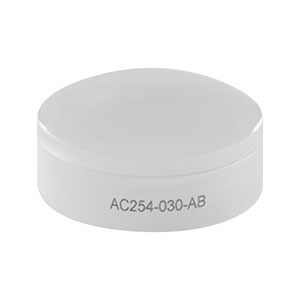 AC254-030-AB - f = 30.0 mm, Ø1in Achromatic Doublet, ARC: 400 - 1100 nm