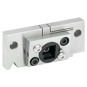 CC250SA - Locking V-Groove Mount for Ø2.50 mm SC/APC Connectors