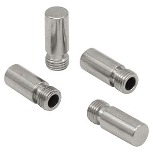 CAPSM - Metal Threaded Caps for SMA Connectors, 4 Pack