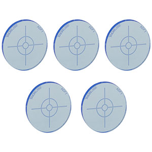 ADF1-P5 - Fluorescent Alignment Disk, Blue, 5 Pack