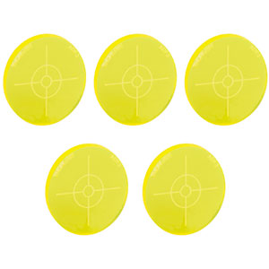 ADF3-P5 - Fluorescent Alignment Disk, Yellow, 5 Pack