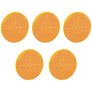 ADF4-P5 - Fluorescent Alignment Disk, Orange, 5 Pack