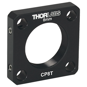 CP8T - SM1-Threaded 30 mm Cage Plate, 8.0 mm Thick