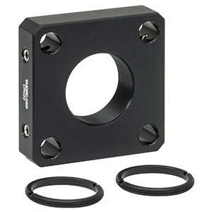 CPN20 - 30 mm Cage Plate for Ø20 mm Optic, 2 SM20RR Retaining Rings Included
