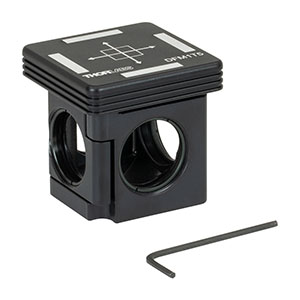DFM1T5 - Kinematic 30 mm Cage Cube Insert for Beamsplitter Cubes