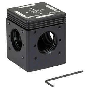 DFM1BS - Kinematic Beamsplitter Cage Cube, 1/4in-20 Tapped Holes