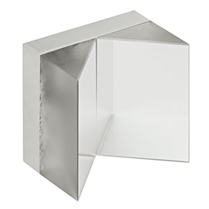 HRS1015-AG - 1in x 1in Hollow Roof Prism Mirror, Ultrafast-Enhanced Silver