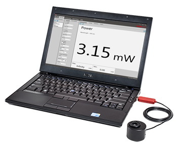 Compact USB Power Meter with Computer Interface