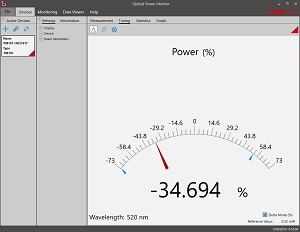 Optical Power Meter Utility