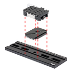 XRN25P Stage and XR25DR Baseplate