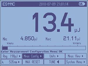 PM100D Pulsed Numeric Display